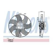 Fits VW Polo 9N 1.6 16V Genuine OE Quality Nissens Engine Cooling Radiator Fan