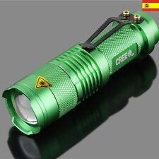 LINTERNA TÁCTICA LED CREE Q5 7W 400LM con zoom UltraFire led ref42