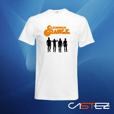 Camiseta naranja mecanica clockwork orange (ENVIO 24/48h)