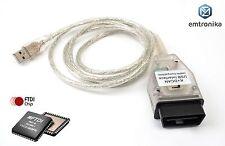 BMW Mini E60 E90 E70 E65 Série K D CAN-BUS USB obd interface avec 7 8
