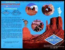 1963 Monument Valley photo Gray Line bus tours vintage print ad
