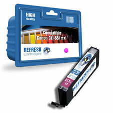 Cartuchos de tinta Magenta compatible Canon para impresora
