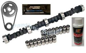 Chevrolet 396 402 427 454 RV Torque Camshaft Lifter Timing Kit 16 Lifters Zinc