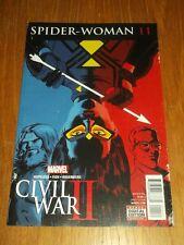 SPIDERWOMAN #11 MARVEL COMICS CIVIL WAR II