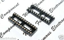 1pcs - 24-Pin IC Socket DIP High Quality 30x10mm
