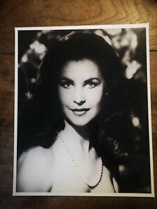 """10 x 8"""" Elisabeth Scott Noir Vintage Creepy Photo Gothic Beauty Prop Display"""