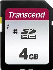 Transcend SDHC 4GB Secure Digital Class 10 Memory Card for Canon Sony Olympus