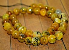 New extra long strand High Quality Stone Beads -12mm Dragon Vein Agate - A4713c