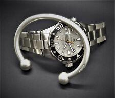 """925 Silver Ball Torque Bangle Bracelet Men's Gents """"Vintage Matte Look"""" Solid"""