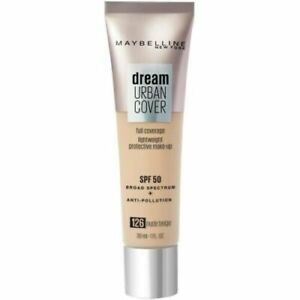Maybelline Dream Urban Cover Full Coverage Foundation Nude Beige 126
