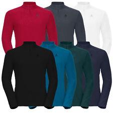 ODLO ORSINO Herren Shirt, Midlayer, Longsleeve, 1/2 Zip, Fleece-Shirt, Pullover
