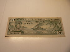 Indochina Banknote  20 Francs