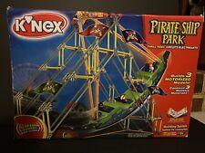 New K'Nex Pirate Ship Park #15139 - 462 pieces Builds 3 Models