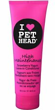 Pet Head Leave In Cat and Dog Conditioner Strawberry Yogurt 8.5 oz