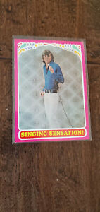 1971 TOPPS TEST ISSUE CARD BOBBY SHERMAN GETTING TOGETHER SINGING SENSATION # 7