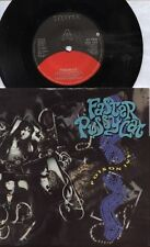 """FASTER PUSSYCAT   Rare 1989 UK Only 7"""" OOP Glam Rock P/C Single """"Poison Ivy"""""""