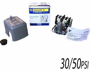 "30/50psi, Square D, Water Pump Pressure Switch, #9013FSG2 1/4""FPT, SQ-D"