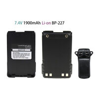Replacement BP-227 Battery for ICOM Two-Way Radio Compatible with Icom IC-M88