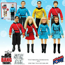 Big Bang Theory - Star Trek: T.O.S. 8-Inch Figures Set (mego)