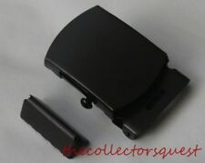 "NEW CLASSIC ROLLER BLACK BELT BUCKLE with TIP ONLY for 1.25"" inch Canvas Belts"
