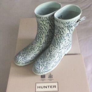 Hunter Short Adjustable Waterproof Rain Women Boots NEW Size US 6 7 10 11