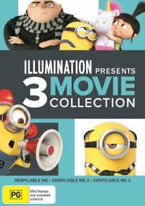 Despicable Me Trilogy (1, 2 and 3) DVD