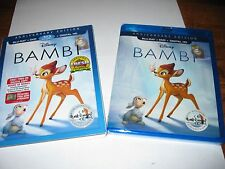 Bambi: Disney; Blu-ray/DVD Signature Collection Anniversary Ed.] NEW+Fast Ship