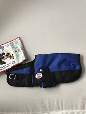 Derby Originals 600D Waterproof Dog Blanket Small 12-14� Royal Blue Nwt