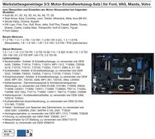 Motor-Einstellwerkzeug-Satz | für Ford, VAG, Mazda, Volvo