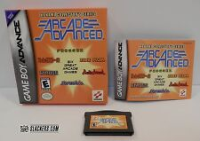 Konami ARCADE ADVANCED (Game Boy Advance) COMPLETE Frogger RUSH'N ATTACK 6-Games