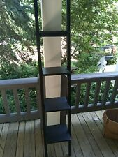 Winsome Wood 4-shelf Narrow Shelving Unit Espresso