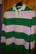 Ralph Lauren Rugby Shirts Fitted Men's Casual