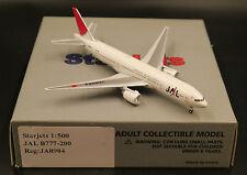 Japan Airlines JAL B777-200 Reg:JA8984 Starjets Scale 1:500 Diecast models