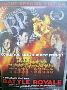 Battle Royale (2000) Batoru rowaiaru (original title) (DVD, 2004) Uncut Version