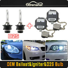 4pcs 2004-2013 Subaru Impreza WRX STi Xenon Headlight Ballasts Igniter D2S Bulbs