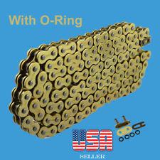 Chain 530 x 150 Gold Color with O-ring Fit: Honda, Kawazaki ,Suzuki