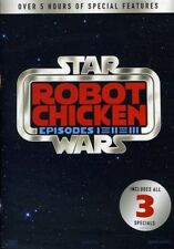 Robot Chicken Star Wars:1-3 [New DVD] Gift Set, Back To Back Packaging
