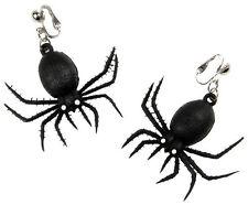 Spinnen Ohrringe Spider NEU - Zubehör Accessoire Karneval Fasching