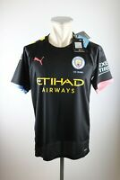 Manchester City Trikot Gr. M L XL Nike 2019-20 Shirt Etihad Airways Away 125