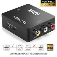 HDMI to AV Converter Output Digital to RCA Analog Audio/Video Input Composite US