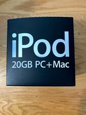 Apple iPod 20GB 4TH GENERATION 2005 - EMPTY BOX ONLY w/ APPLE STICKER / MANUAL