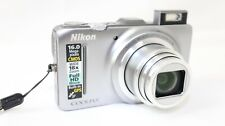 Nikon COOLPIX S9300 16.0MP Digital Camera 18x Zoom ~Chrome~