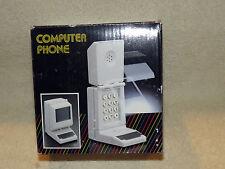 Looks Like Computer Phone Desk Telephone Vintage 1986 NOS Sequent Flip Open