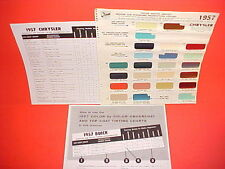 1957 CHRYSLER IMPERIAL CONVERTIBLE WINDSOR SARATOGA NEW YORKER PAINT CHIPS SW