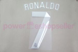 Real Madrid 2014/2015 #7 C.RONALDO Awaykit Nameset Printing