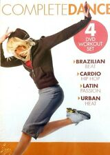 NEW! Complete Dance 4 DVD SET Brazilian, Hip Hop, Latin & Urban EXERCISE