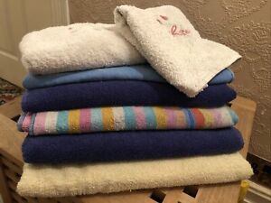 Towels Bundle 5 Bath 2 Hand Selection As Shown Good Clean Condition!