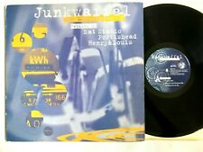 "JUNKWAFFEL– The Mudskipper EP (Portishead /Eat Static) 1995 Trip Hop Vinyl 12"""