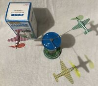 Tin Toy Aerodrome Airport Control Tower Schylling wind up MINT CONDITION