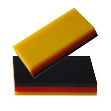 2PCS Soft Rubber Car Vinyl Wrap Scraper Squeegee Carbon Fiber Film Install Wrap
